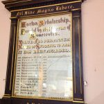 Horton Scholarship Honours Board