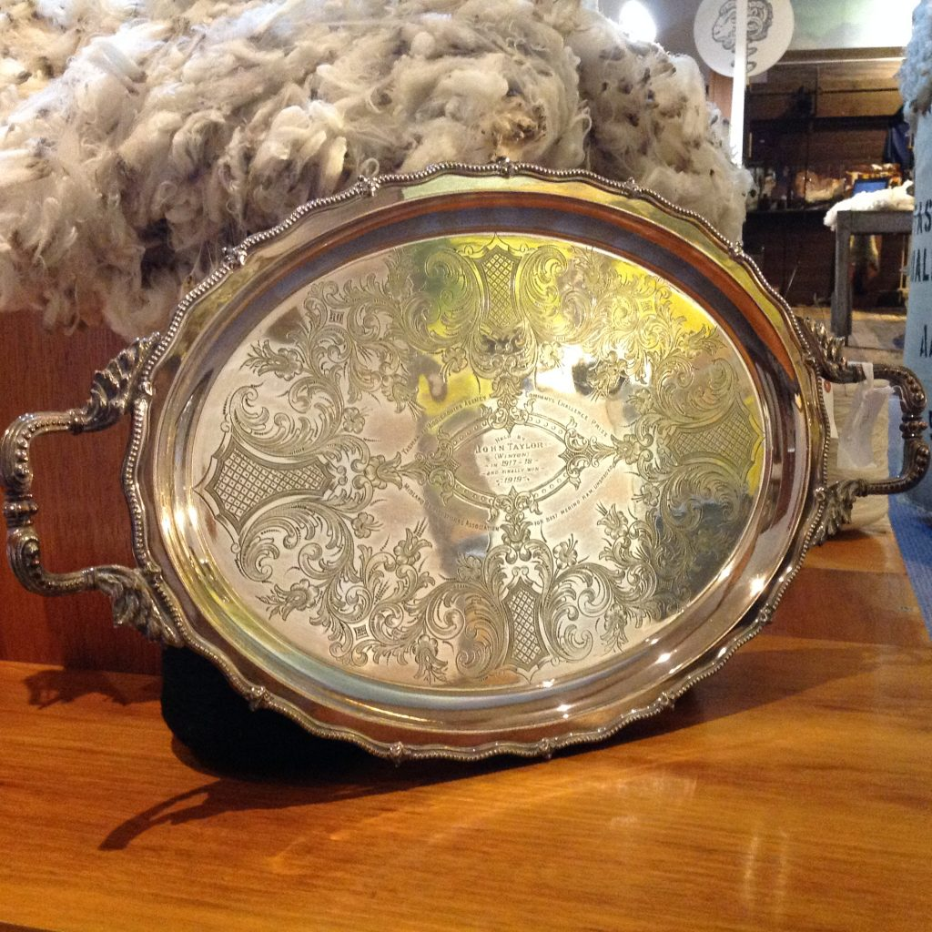 Silver Plate Trophy Tray 1