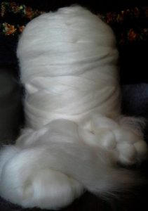 English Leicestor spun wool