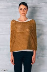 uimi sophie poncho curry