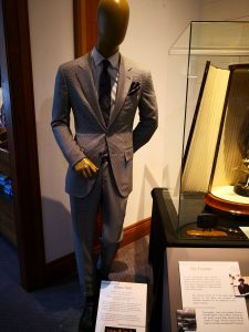 Zegna Trophy in cabinet
