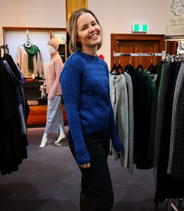 The Maria colbalt blue womens jumper