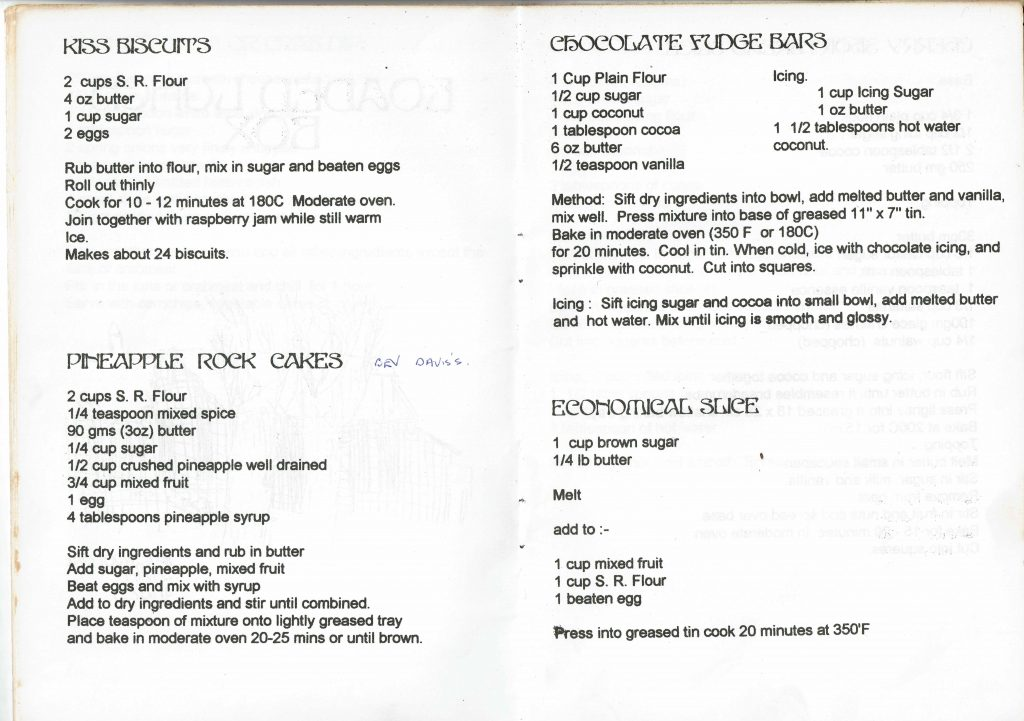 Ross Primary School Recipe book