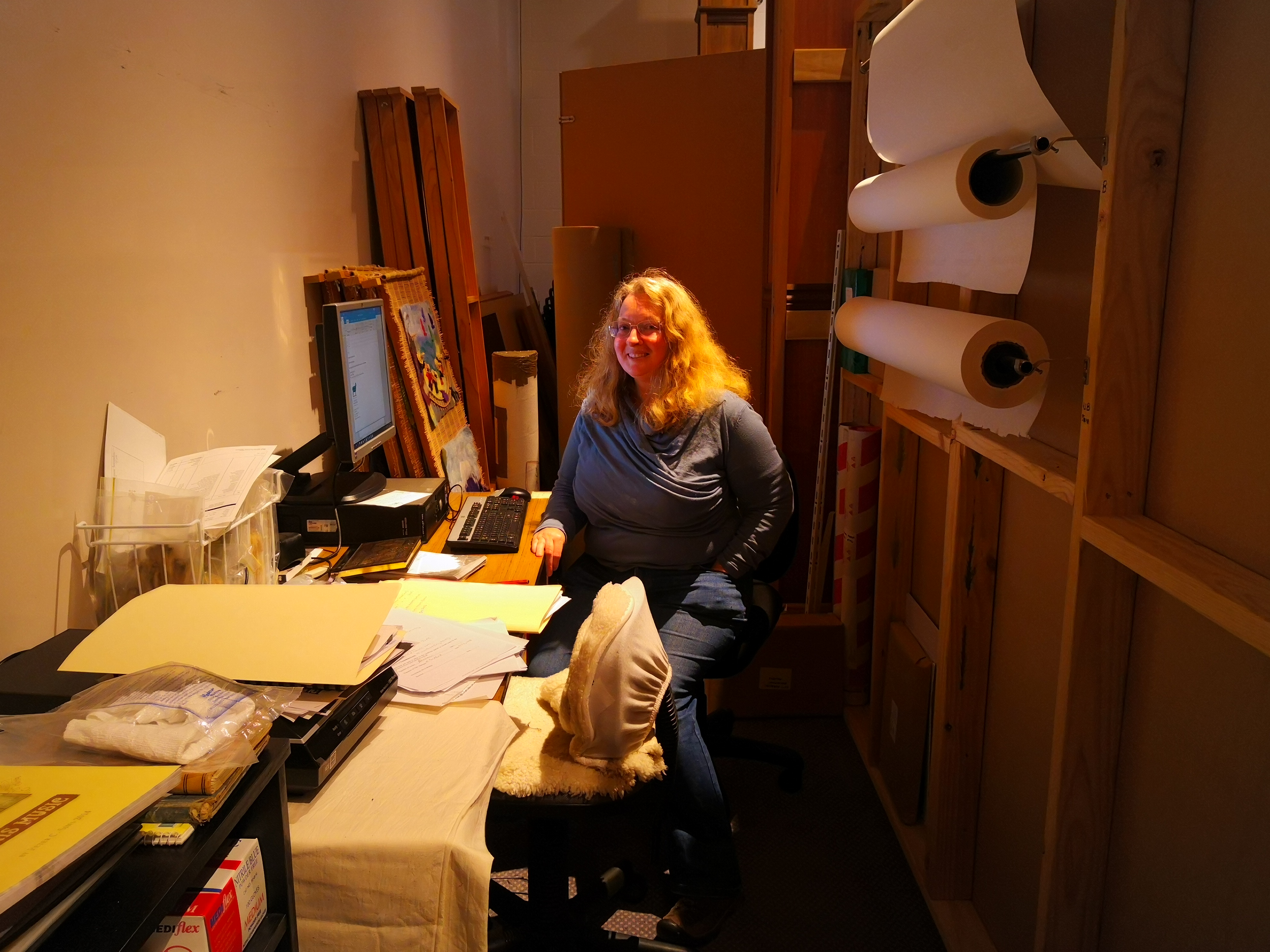 Meet the team, Liz, Museum officer