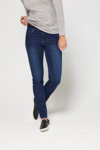 Toorallie Brooklyn Skinny Leg Jean in Indigo Wash