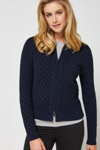 Toorallie Igloo Merino Cardigan Midnight