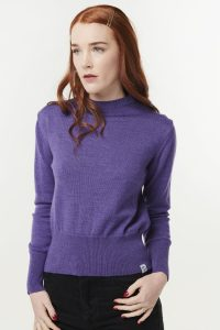 MCINTYRE Polly Cropped Merino Sweater