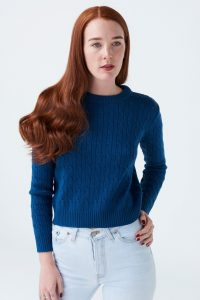McIntyre Maria Merino Cable Knit