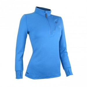 Wilderness wear womens glacier jumper in azure