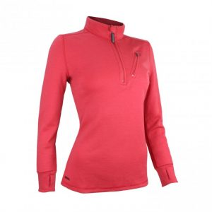 Wilderness wear womens glacier jumper in scarlet