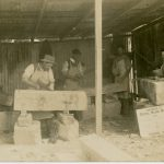 Stonemasons at work