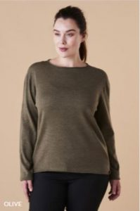 Uimi Phoebe Jumper in Olive