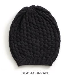 Uimi Bellamy Beanie in blackcurrent
