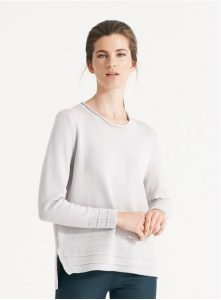 Nikel and Sole Cortina Jumper, colour Chalk