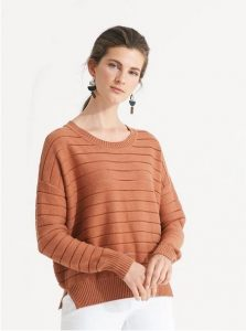 Nikel and Sole Shefford jumper, colour Nutmeg