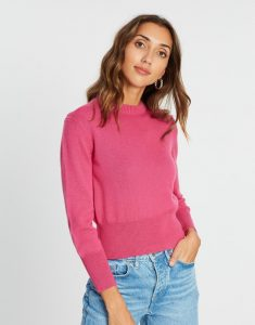McIntyre polly jumper in pink